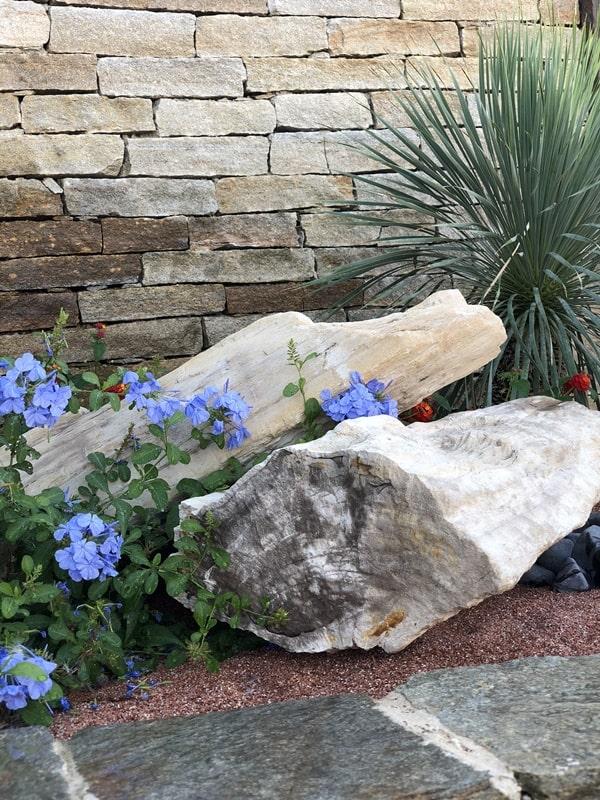 Fontaine jardin marbre blanc