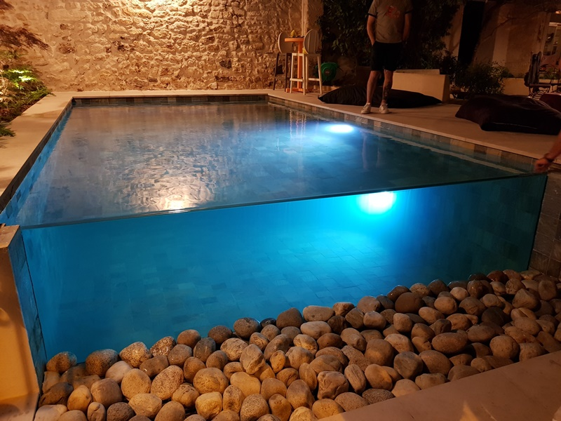 Carrelage piscine Bali