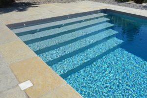 dallage et margelle de piscine yellow stone