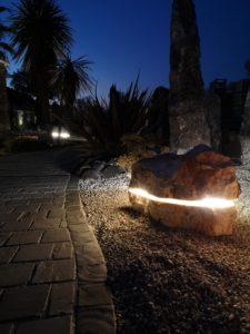 Roche son & lumière grand canyon - décoration de jardin