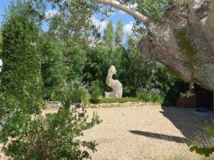 Monolithe onyx - décoration de jardin