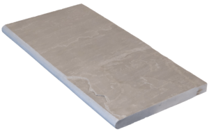Margelle natural grey 1/2 rond